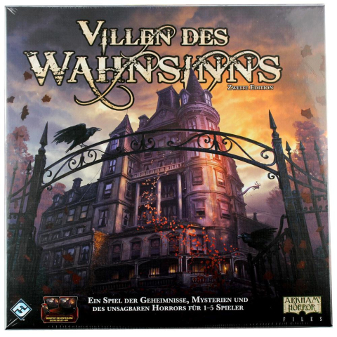 FFG Villen des Wahnsinns 2. Edition revised Grundbox (deutsch)