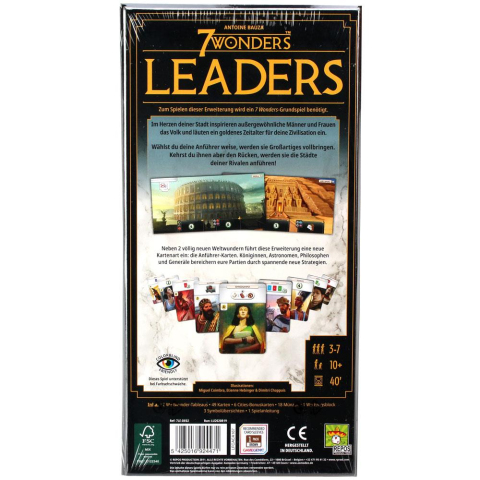 Repos Production 7 Wonders Leaders - Erweiterung