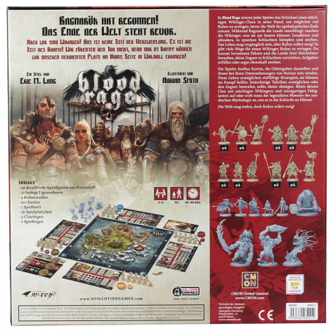 CMON Blood Rage - Brettspiel deutsch