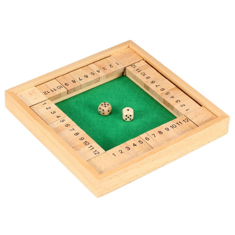 Philos Shut the Box 4-Spieler-Variante - 12er (3281)