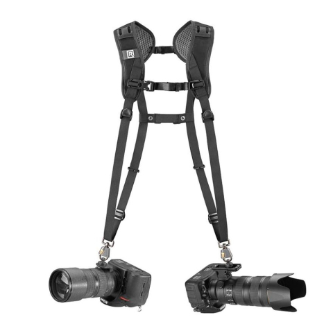 Blackrapid R-Strap Double Breathe Doppel-Kameragurt für DSLR Kameras