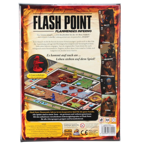 Indie Boards & Cards Flash Point - Flammendes Inferno