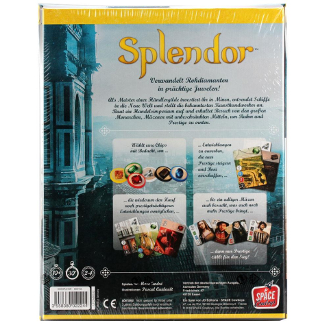 Space Cowboys Splendor Brettspiel (deutsch)