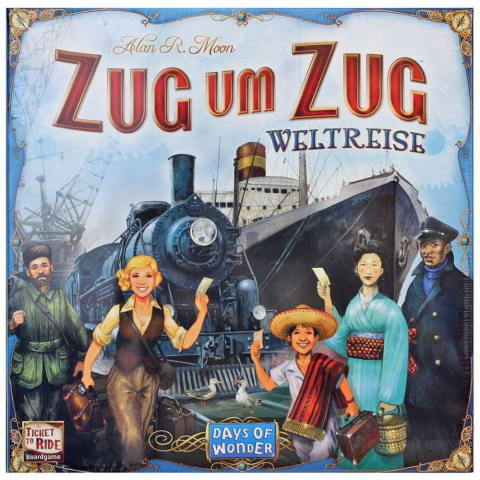 Days of Wonder Zug um Zug Weltreise