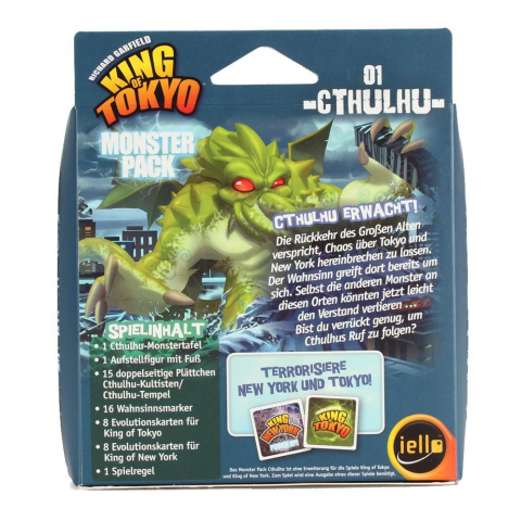Iello King of Tokyo - Monster Pack 01 - Cthulhu (deutsch)