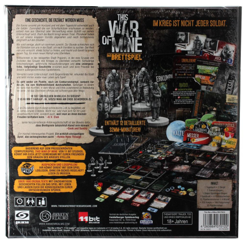 Galakta This War of Mine Das Brettspiel (deutsch)