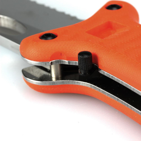 FKMD Fox Knives Advance Rescue Diver Knife Taschenmesser
