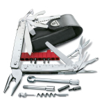 Victorinox SwissTool X Plus Ratchet in Leder-Etui (3.0339.L)