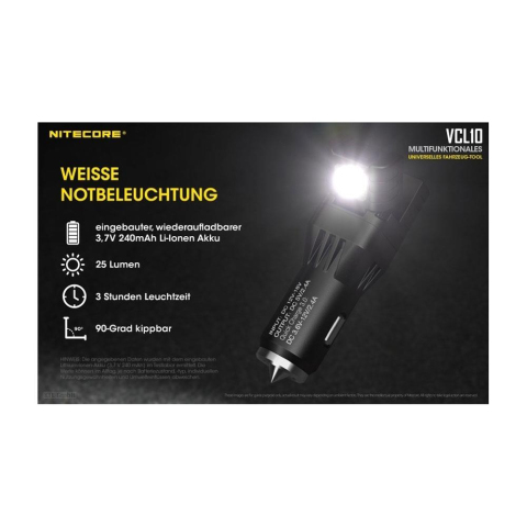 Nitecore VCL10  All-in-One Gadget