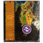 Feuerland Scythe - Game Board Extension
