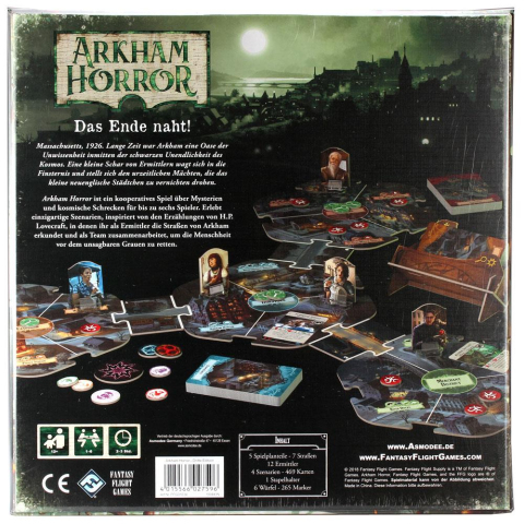 FFG Arkham Horror 3.Edition (deutsch)