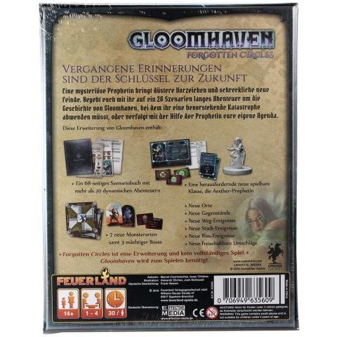 Feuerland Gloomhaven Forgotten Circles (deutsch)