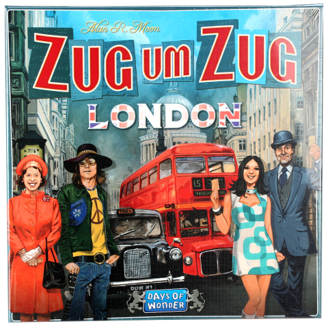 Days of Wonder Zug um Zug London
