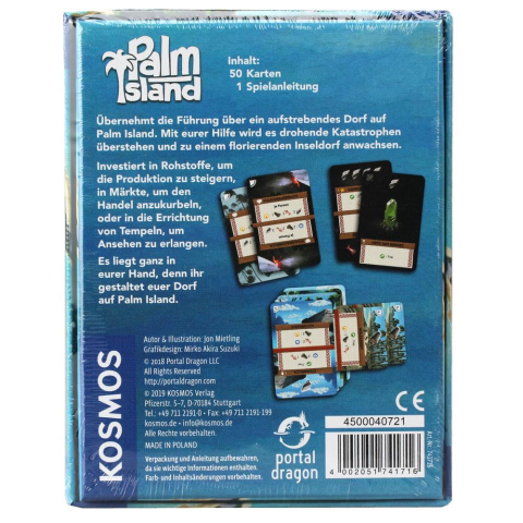 Kosmos Palm Island (deutsch)