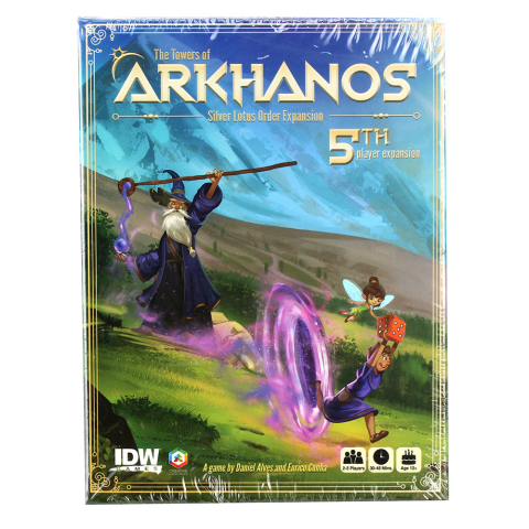 IDW-Games Towers of Arkhanos  Silver Lotus Order Erweiterung (EN/DE/FR/SP/IT/NL)