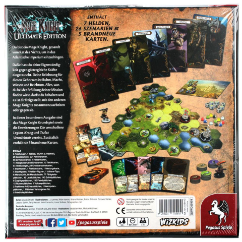 WizKids Mage Knight - Ultimate Edition (deutsch)