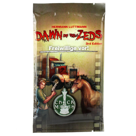 Frosted Games Dawn of the Zeds 3rd Edition - Freiwillige vor! Erweiterung