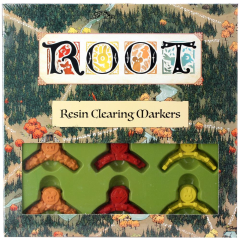 Leder Games Root - Resin Clearing Markers