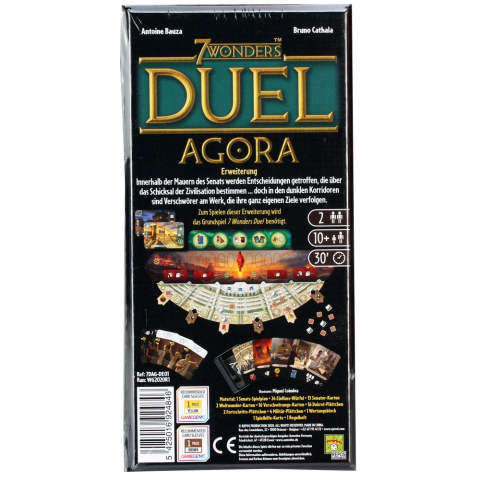 Repos Production 7 Wonders Duell - Agora Erweiterung