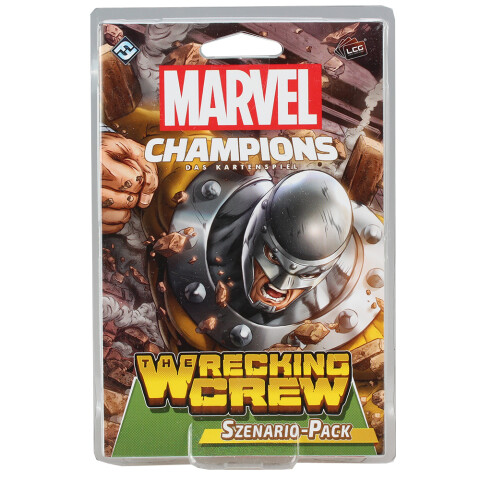 FFG Marvel Champions: The Card Game LCG - The Wrecking Crew Szenario-Pack (DE)