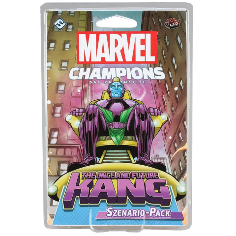 FFG Marvel Champions: The Card Game LCG - The Once and Future Kang Szenario-Pack
